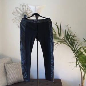 Gianni Bini - Leather Straight Pant